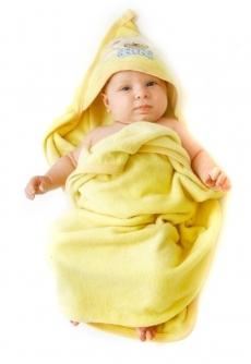 niemowlak w rożku