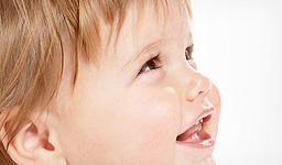 owulacja uśmiechnięte dziecko