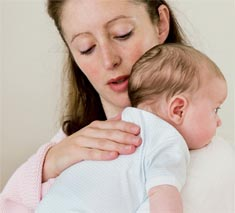 odbijanie noworodka po karmieniu