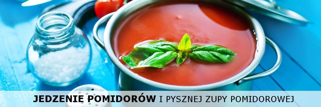 jedzenie zupy pomidorowej w ciąży